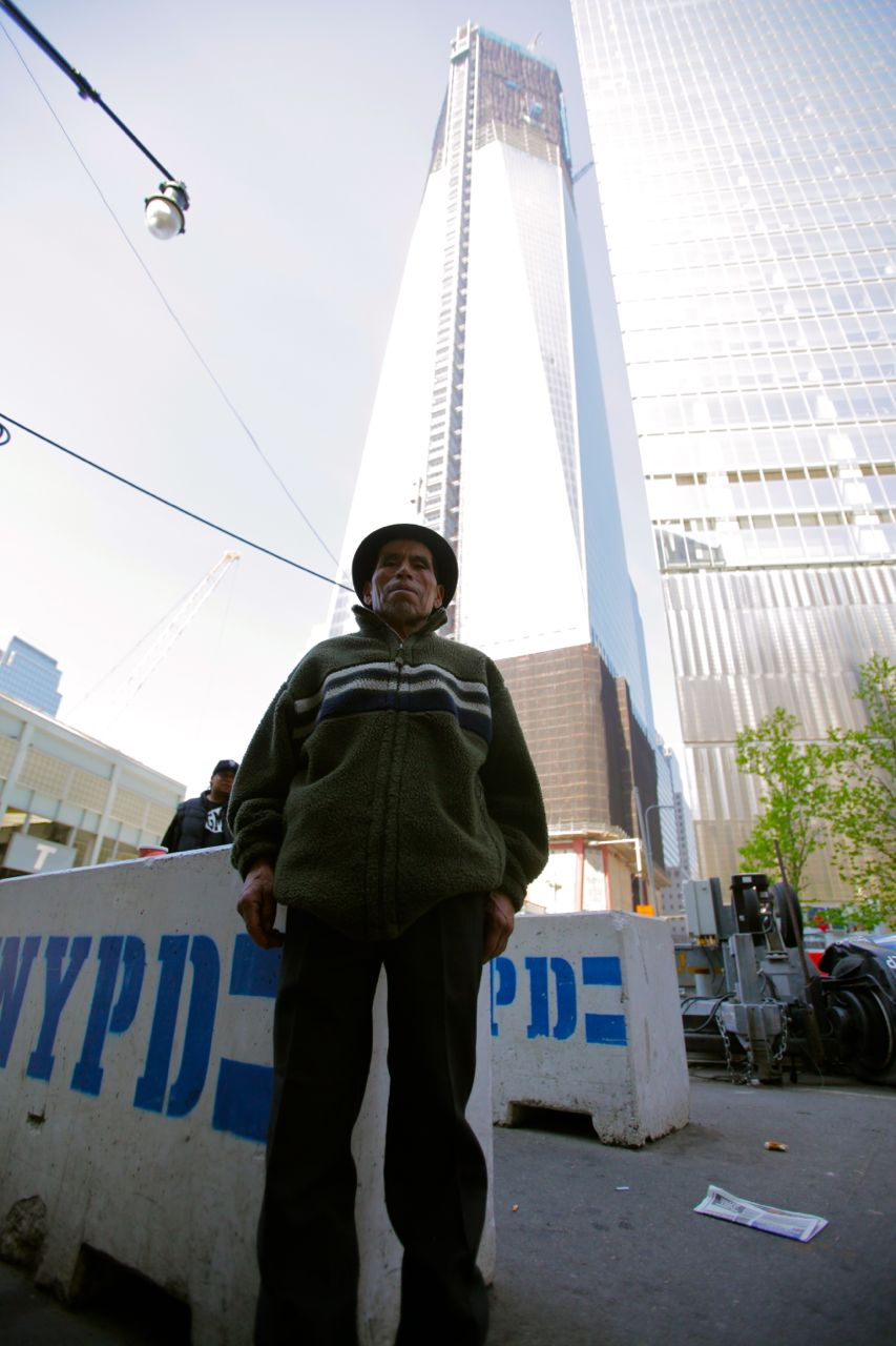 Baltazar visits the World Trade Center